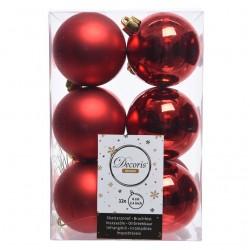 Bola de Navidad 6 cm. Personalizada ROJO